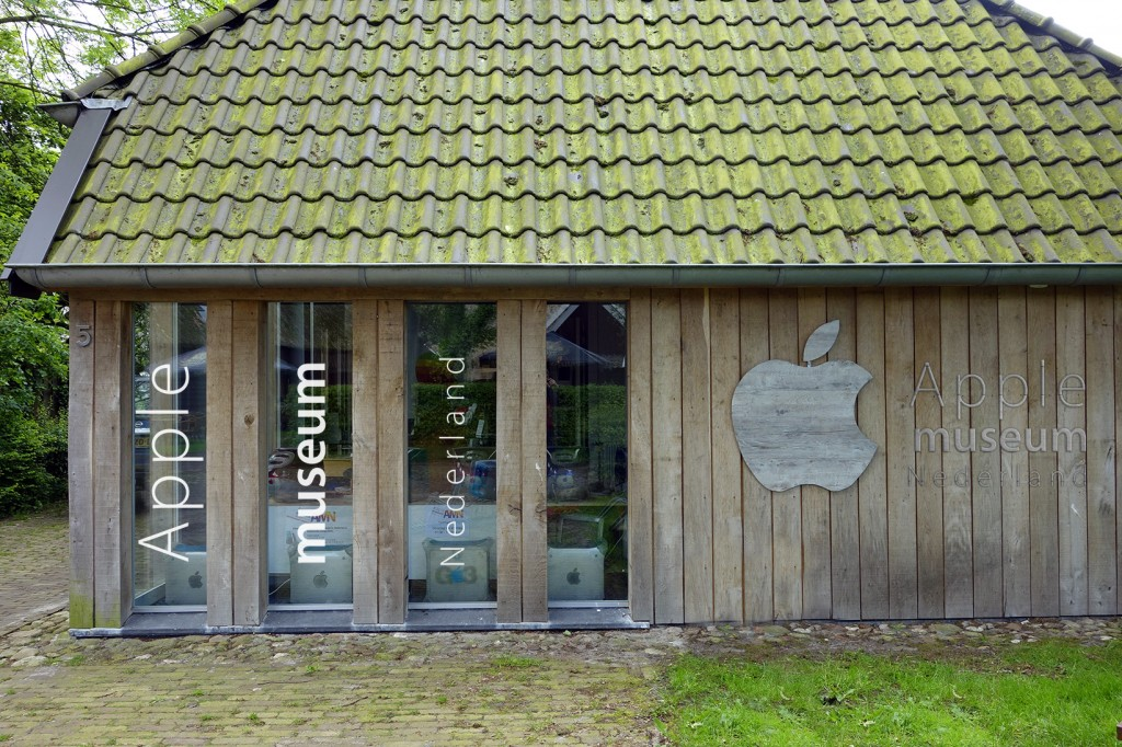 The Apple Museum in the Netherlands. Are you curious to see what's inside?