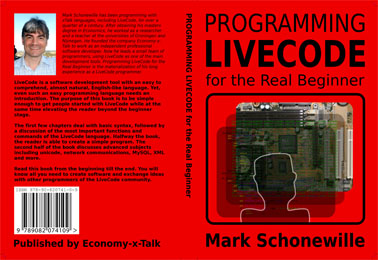 Cover of Programming LiveCode for the Real Beginner